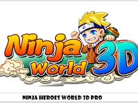 Ninja Heroes World 3D Pro v2.1.17 Mod Apk Terbaru
