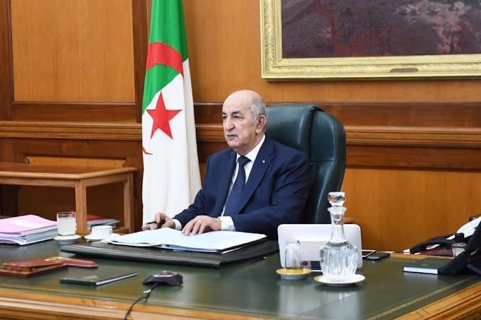 الرئيس الجزائري يستحدث 7 مناصب على مستوى وزارة الخارجية لتنشيط عمل ودور الدبلوماسية الجزائرية.