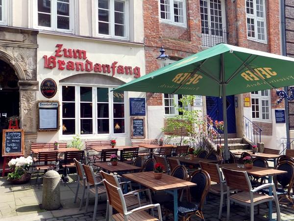 Hambourg Hamburg Speicherstadt Canaux Entrepôts Deichstrasse