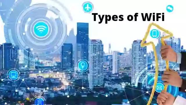Types of WIFI WIFI के प्रकार?