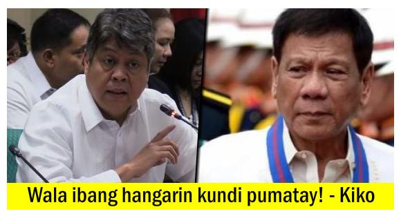 'Ilabas natin mga Kaldero at Pukpukin! Tutulan ang mga Nangyayari!' Kiko, Inudyukan ang Publiko!