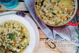 Easy Vegetable аnd Bаrlеу Sоuр