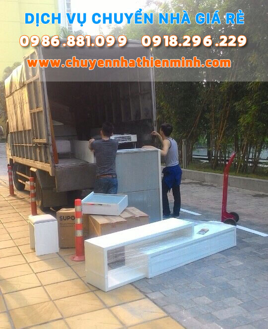 chuyển nhà giá rẻ uy tín tại Hà Nội