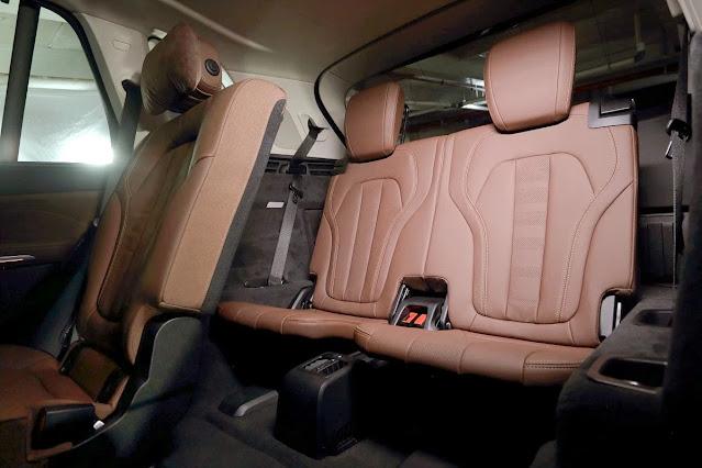 New X5_rear seat 3rd row