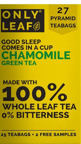 ONLYLEAF Chamomile Green Tea For Stress Relief