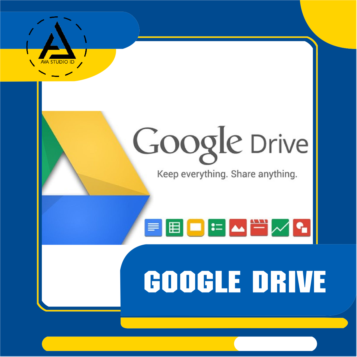 Google Drive is a file storage and synchronization service