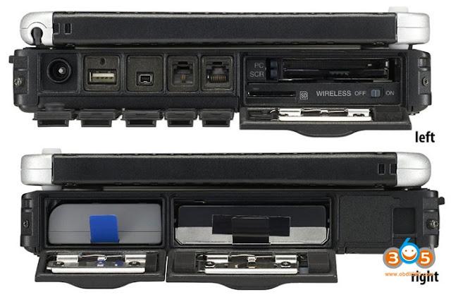 Ordinateur portable Maserati MDVCI cf19-2