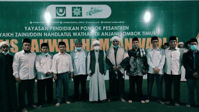 Ikatan Sarjana NW Pusat Dilantik, Dr. Mugni Terpilih Jadi Ketua