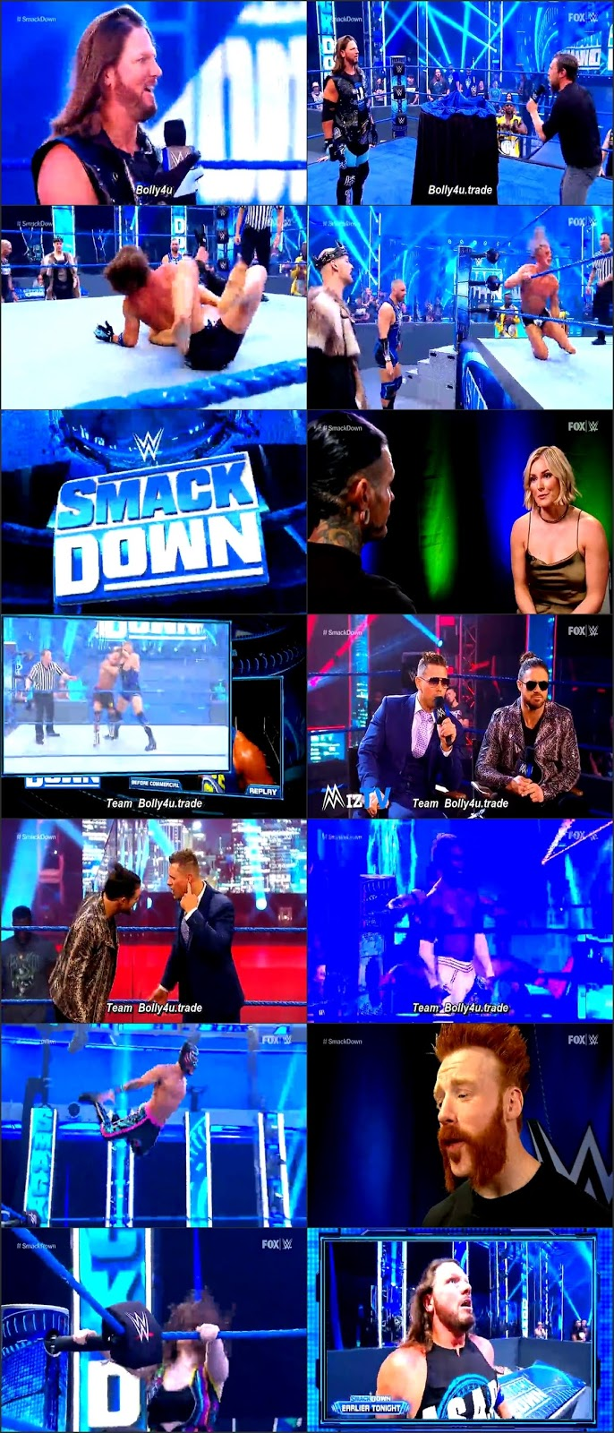 WWE Friday Night Smackdown HDTV 480p 280Mb 19 June 2020 Download