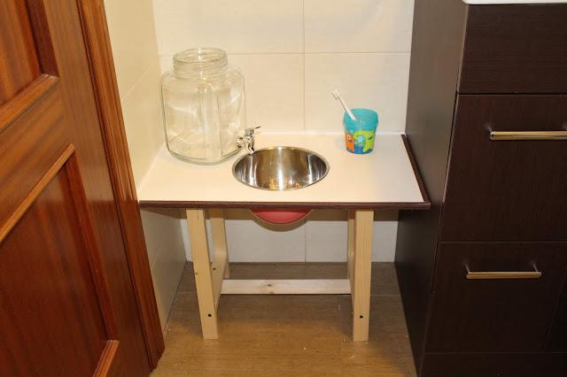 lavabo montessori método montessori