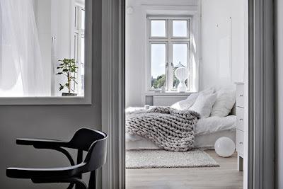 inspirace ve skandinávském stylu
