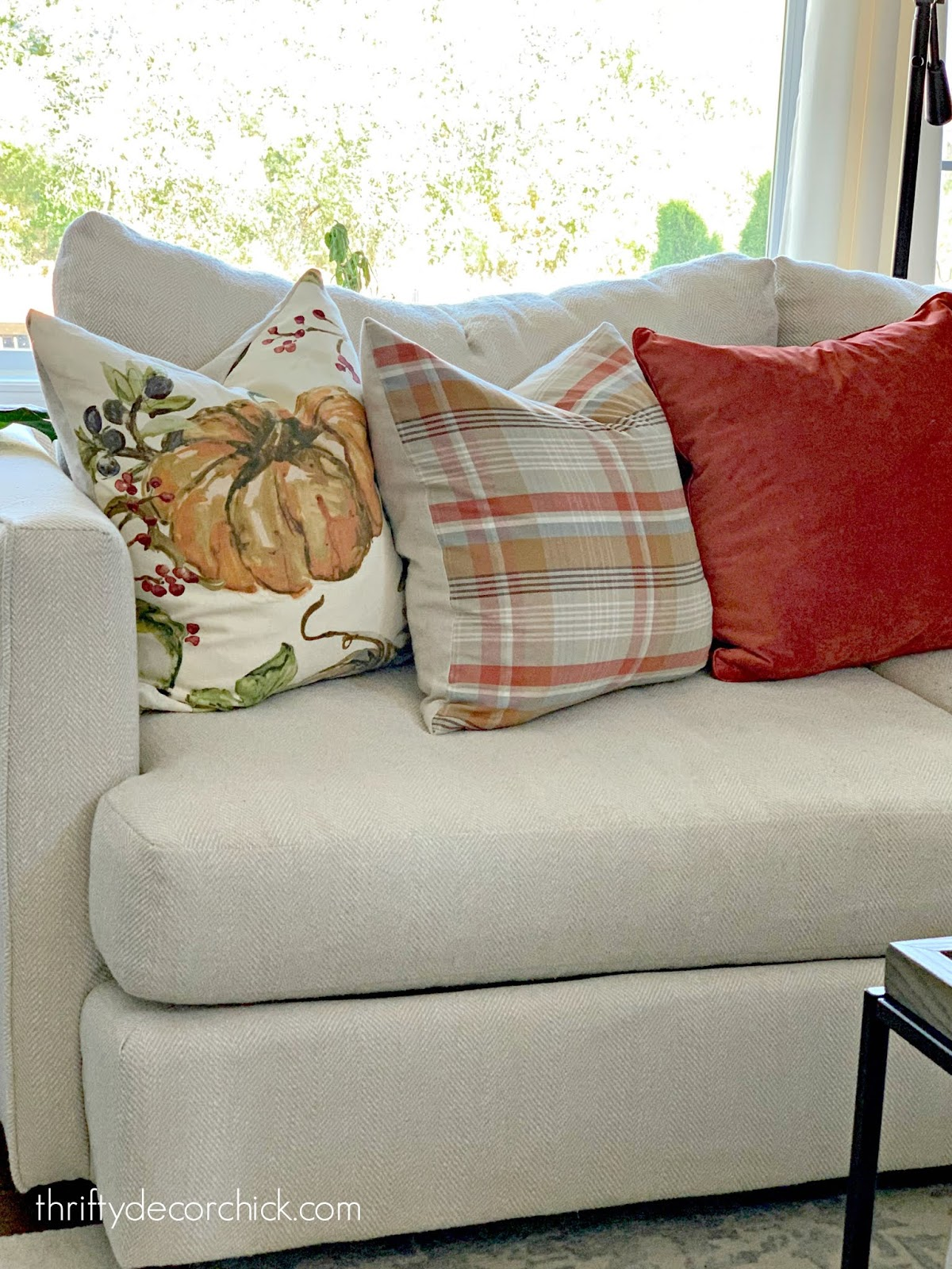 Pottery Barn pillows for cheap