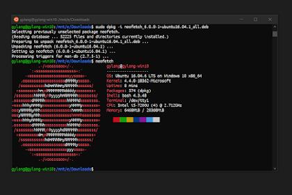 Cara Instal Font Ubuntu di Windows Subsytem For Linux Windows 10