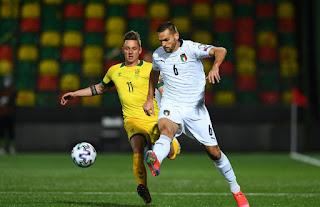 ملخص واهداف مباراة ايطاليا ولتوانيا (2-0) تصفيات كاس العالم