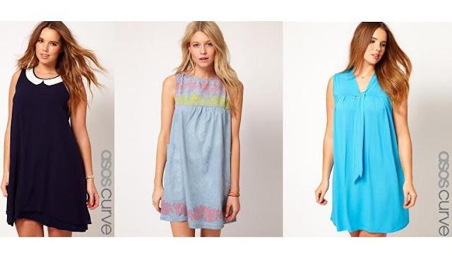 diseños de vestidos en forma de camison