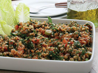 Try this Armenian salad recipe with grit and mint and spice it up with some hot green pep Armenian Grit Salad Recipe