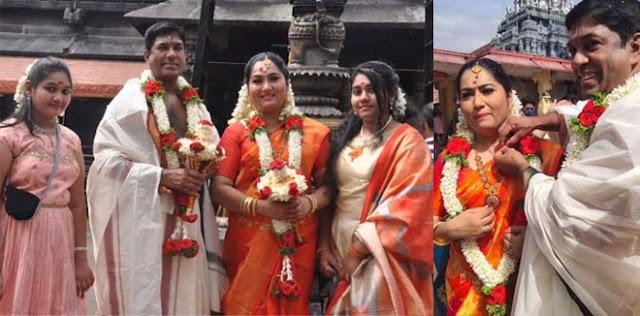 Actress Yamuna second marriage photos