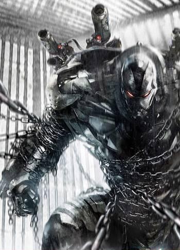 War Machine en cómics modernos de marvel