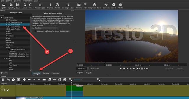esportazione-video-shotcut