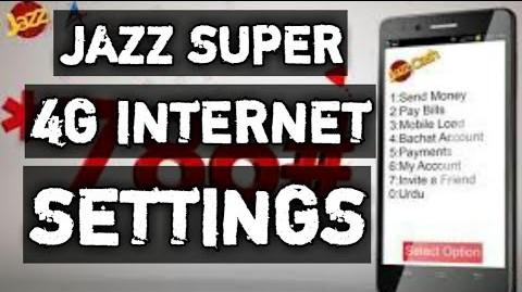 Jazz 4G apn setting - jazz internet setting 2021