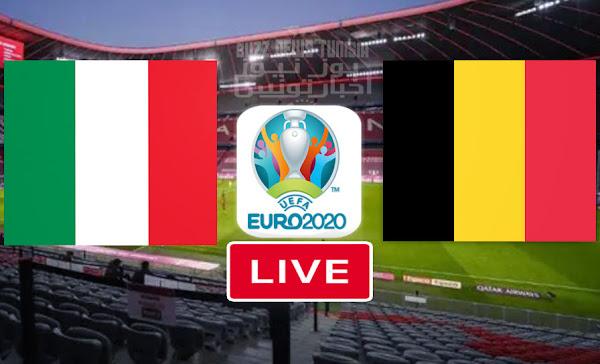 Watch Match Belgium vs Italy euro 2020 live streaming