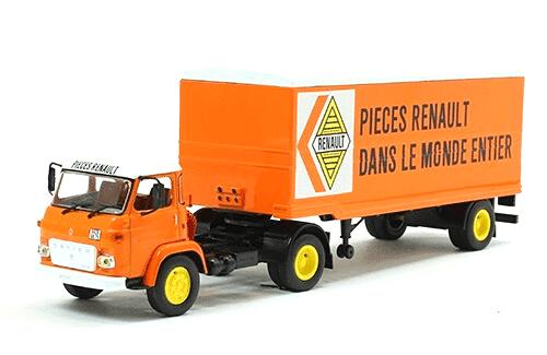 coleccion camiones articulados, camiones articulados 1:43, Saviem SM 8 T camiones articulados
