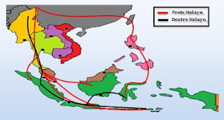 The Process of Migrating Proto Malay and Deutro Malay to Indonesia