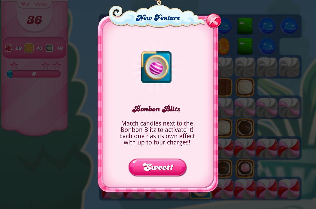 Candy Crush Saga Bonbon Blitz