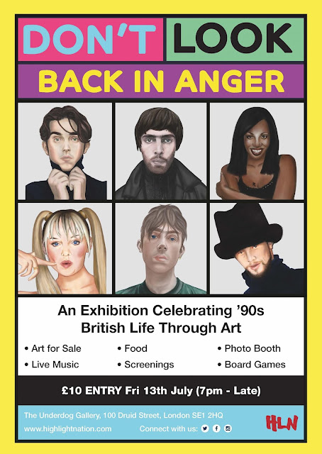 Don't Look Back In Anger: An Exhibion Celebrating 90s British Music, Art & Culture