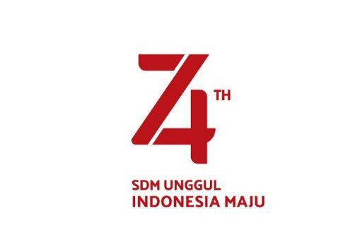 Tema dan Logo Resmi HUT Ke-74 RI 2019