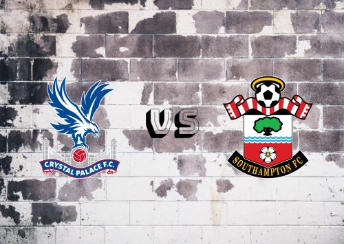 Crystal Palace vs Southampton  Resumen