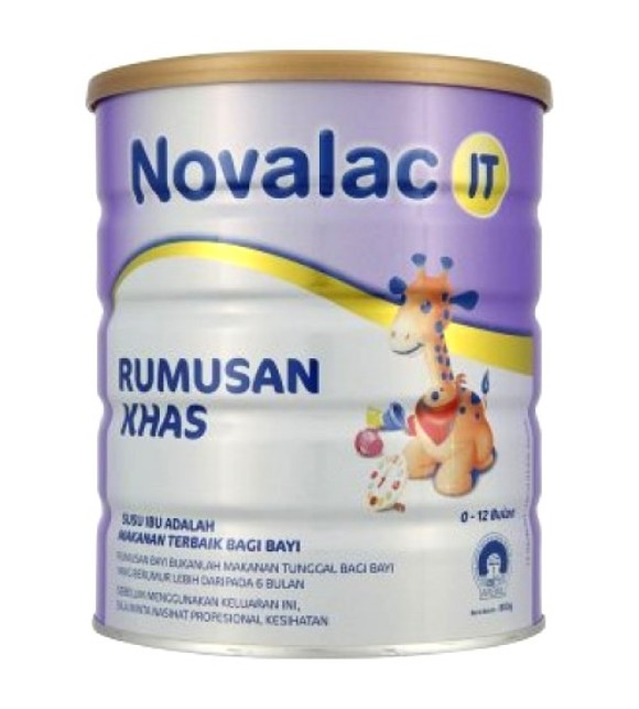 Susu untuk bayi sembelit novalac it