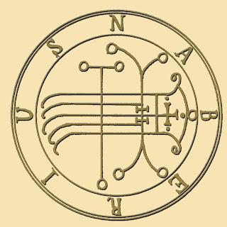 Naberius sigil