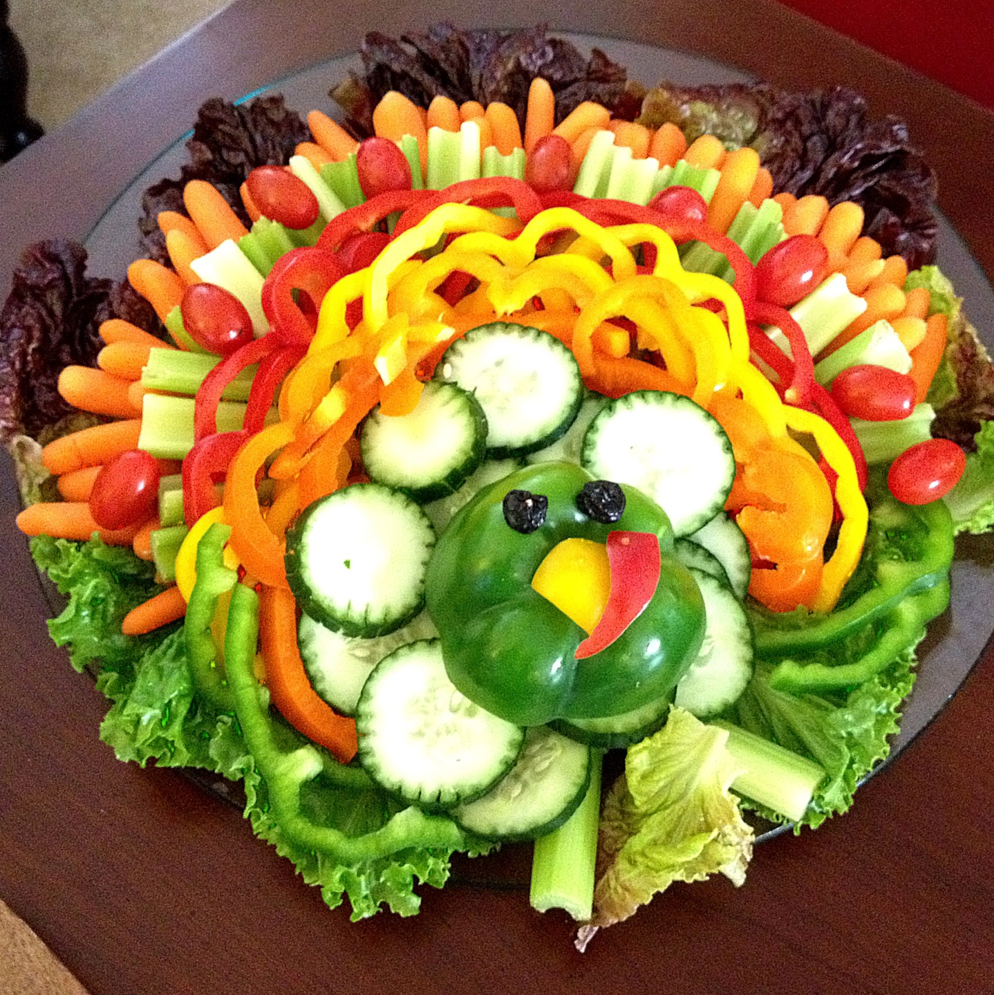 Image result for turkey crudite