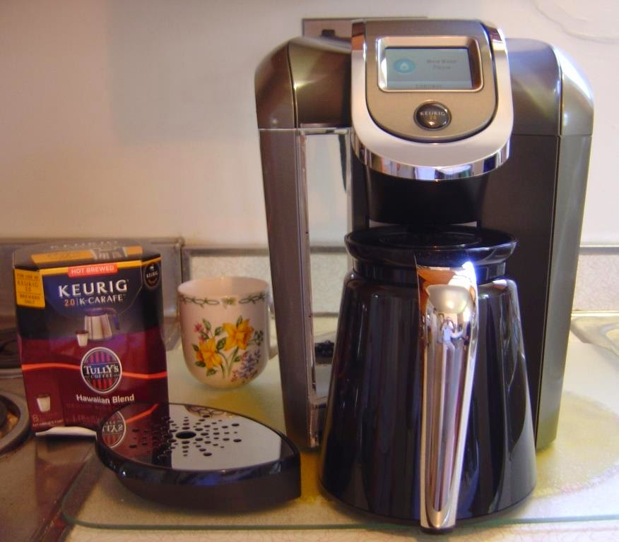 another view of Keurig 2.0 K550 Brewing System