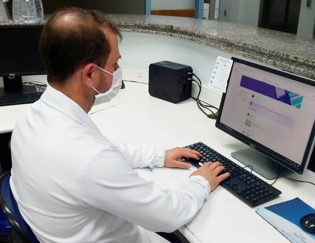 Profissionais de saúde do HST podem assistir às videoaulas quando e onde quiserem