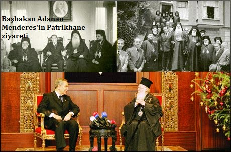 Padişah torununun elini öpen A. Menderes