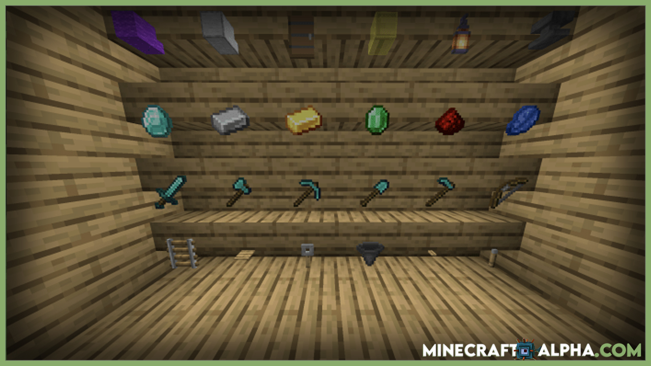 Invisible Item Frame Resource Pack 1.17.1