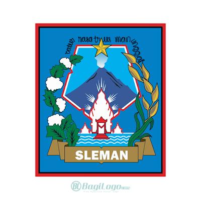 Kabupaten Sleman Logo Vector