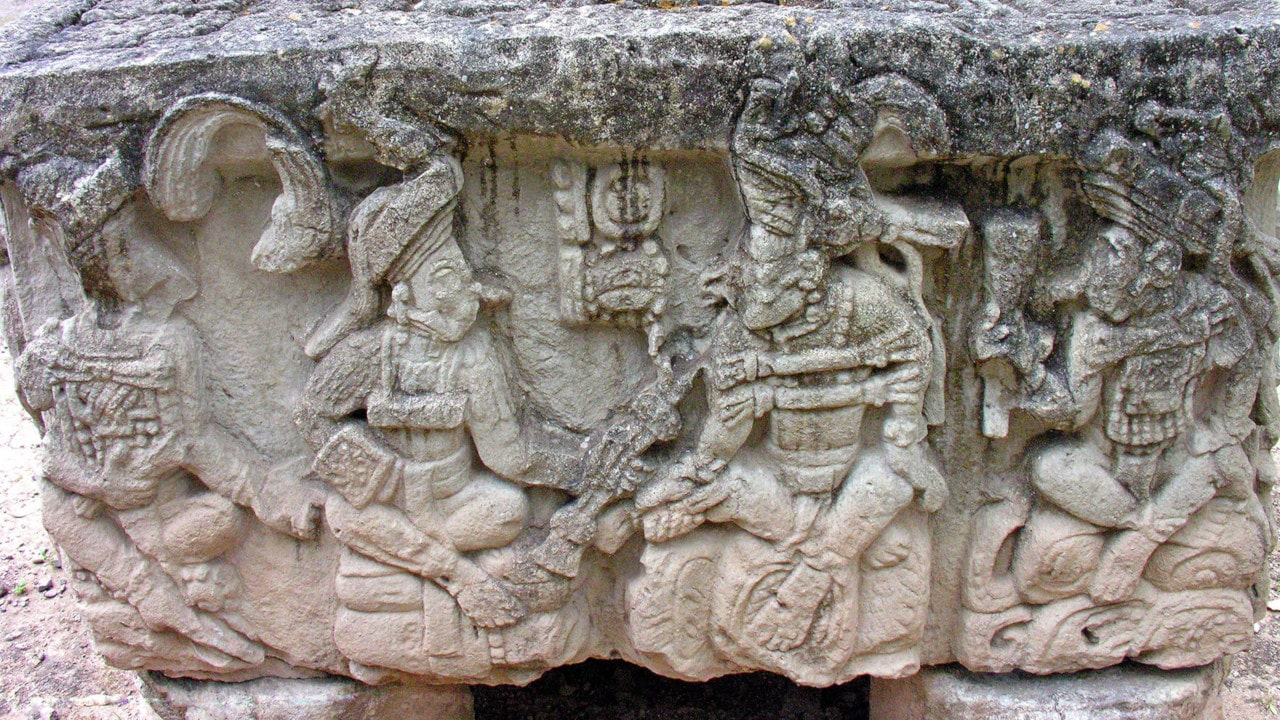 arquitectura maya azteca e inca