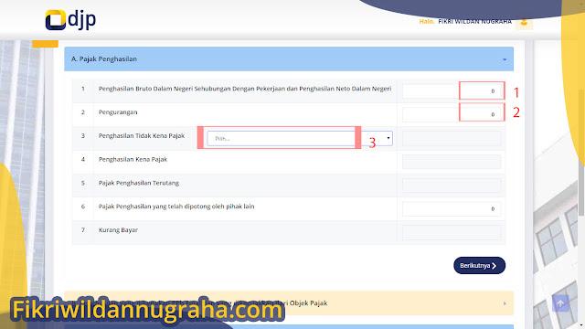Cara Lapor SPT Tahunan Pajak Online via e-Filing surat pemberitahuan DJP mengisi formulir pendaftaran akun npwp karyawan perorangan mendapatkan efin