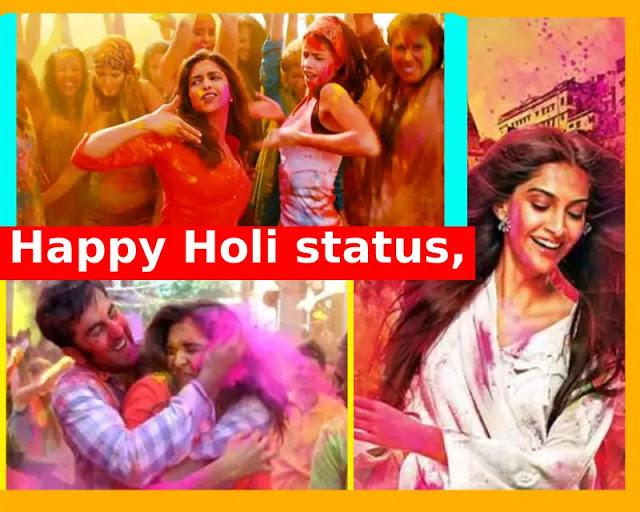 happy Holi status, happy Holi wishes, happy Holi quotes Hindi