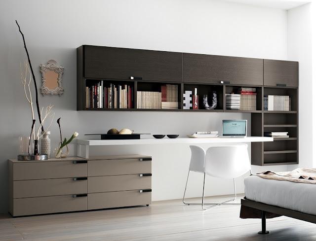 modern home office furniture design sets Boston