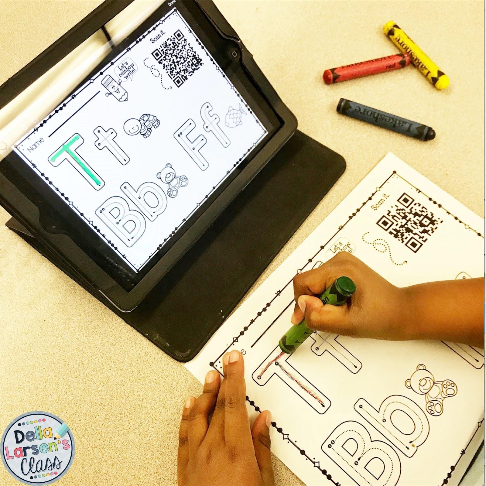 Della Larsen S Class New Ideas For Teaching Handwriting