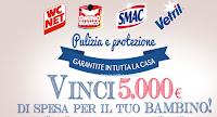 Logo Vinci 5.000 euro in buoni spesa per il tuo bambino