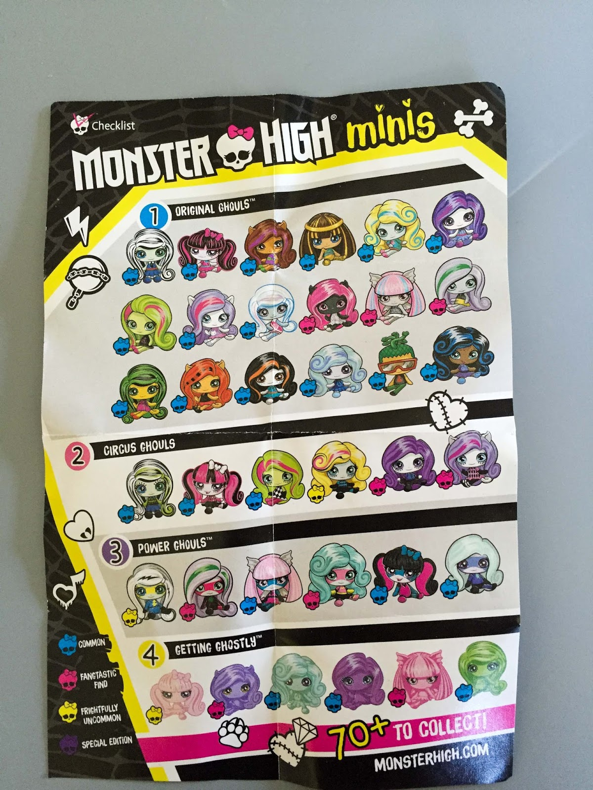 Cozy Comforts And Dolls Blind Bags Monster High Minis