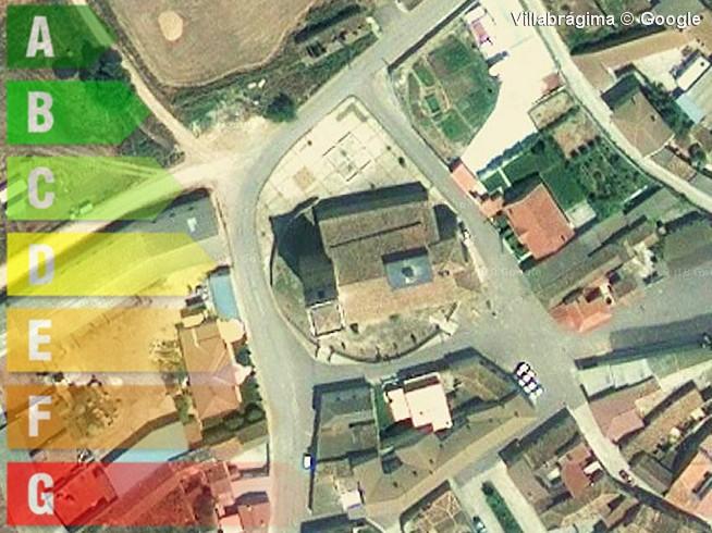 certificado energetico de vivienda y local en villabragima