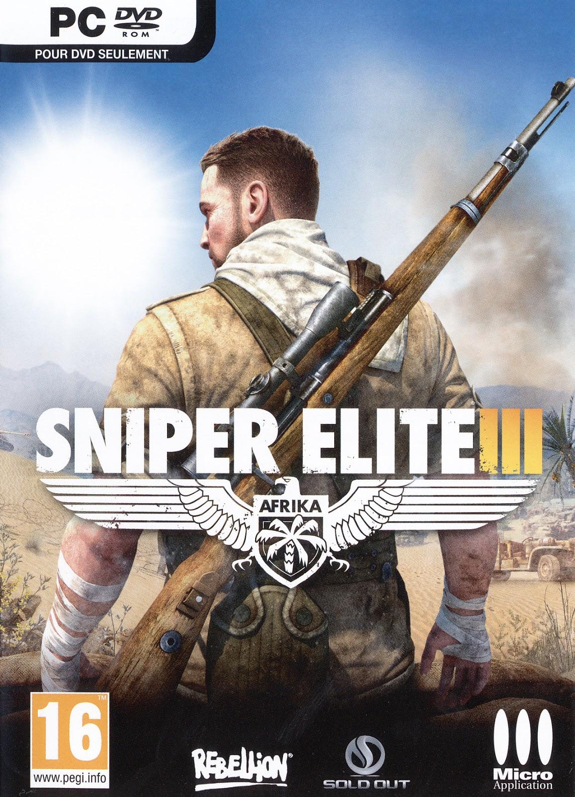 Sniper Elite 3 Highly Compressed Games