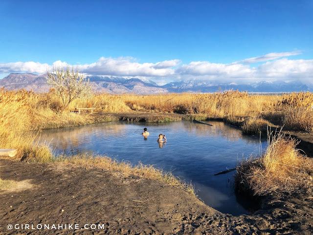 Visiting Saratoga Hot Springs, Utah