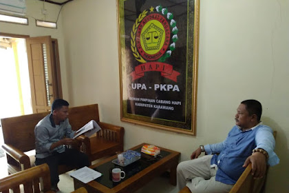 Aktivitas Kantor DPC HAPI KABUPATEN KARAWANG Pada Jum'at 17 Januari 2020
